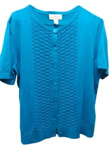 Christopher & Banks Top Teal
