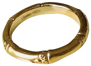 John Hardy John Hardy 18k Yellow Gold, Bamboo Collection Band Ring, Size 8.5