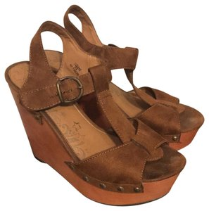 Brash brown Wedges