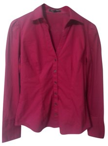 Express Button Down Shirt Raspberry