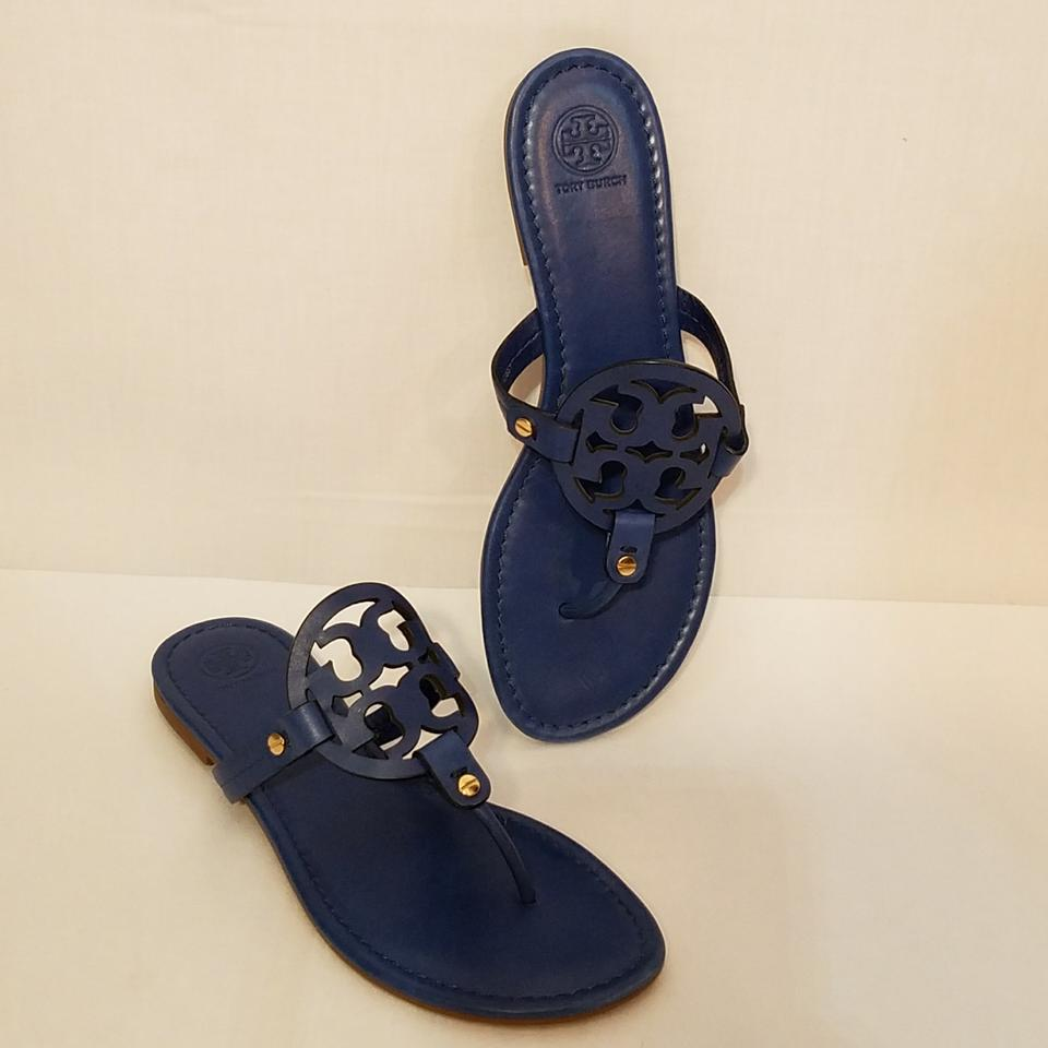 601ff1ccb Blue Miller Leather Sandals. Size  US 10.  150.50 Shipping Included. View  Original Listing. Tory Burch Blue Sandals ...