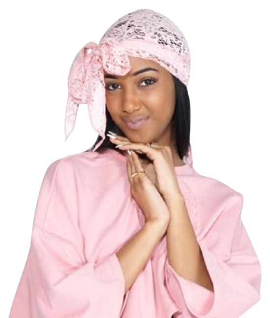 Item - Pink Lace Numbered Durag Hair Accessory