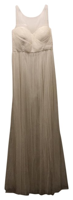 Item - White Collection Aria Gown Long Formal Dress Size 10 (M)