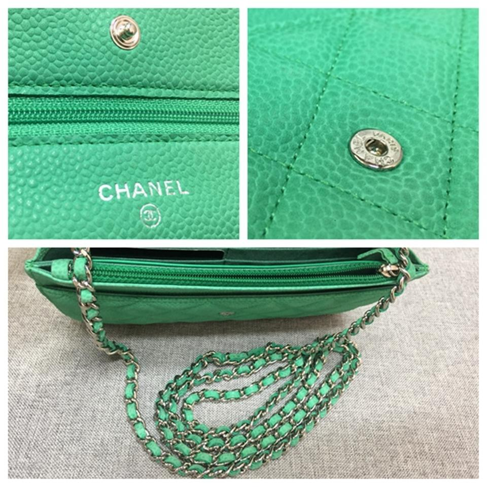 e3bb48291b0a Chanel Caviar Wallet On Chain Cross Body Bag Image 11. 123456789101112