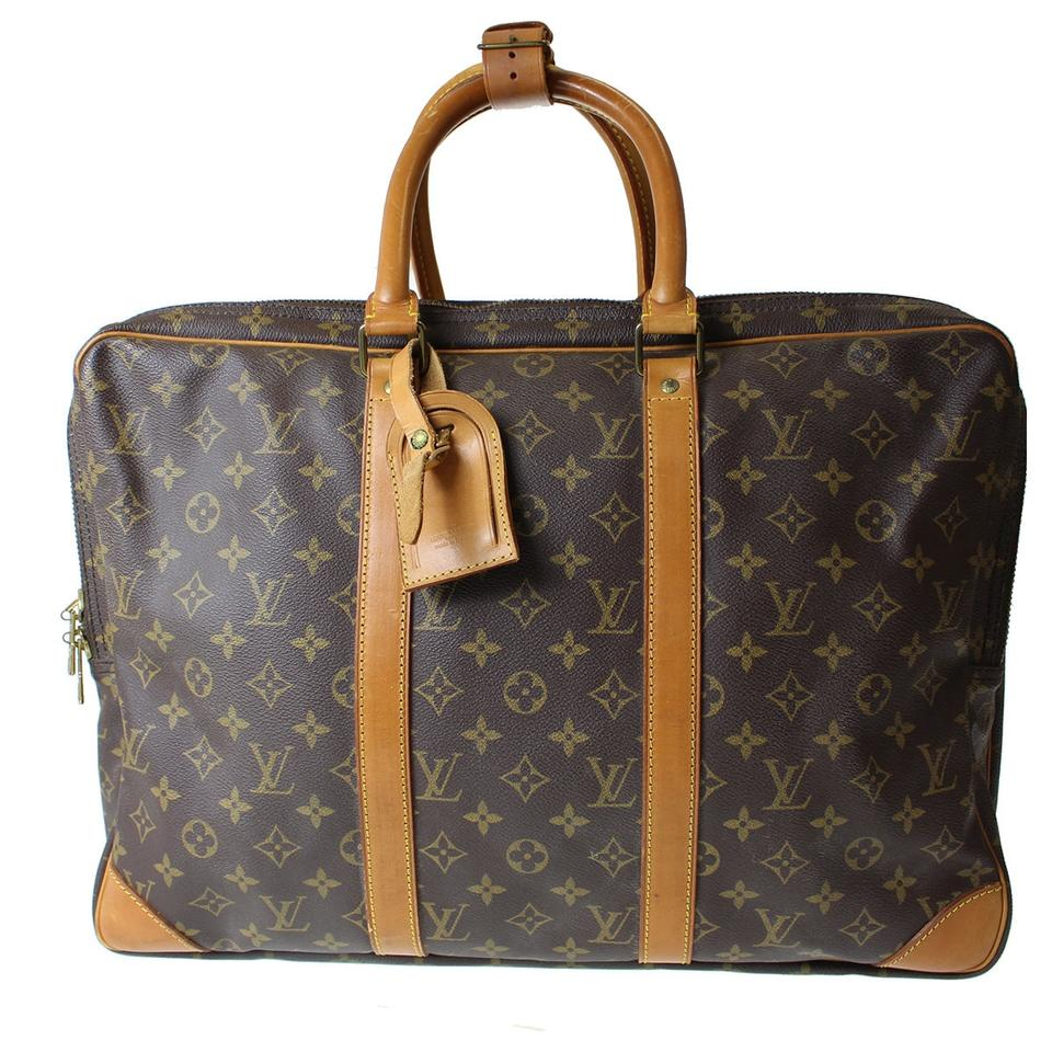 5790c5d0be20 Louis Vuitton Sirius 45 M41408 Vintage Brown Monogram Canvas Leather  Weekend Travel Bag - Tradesy