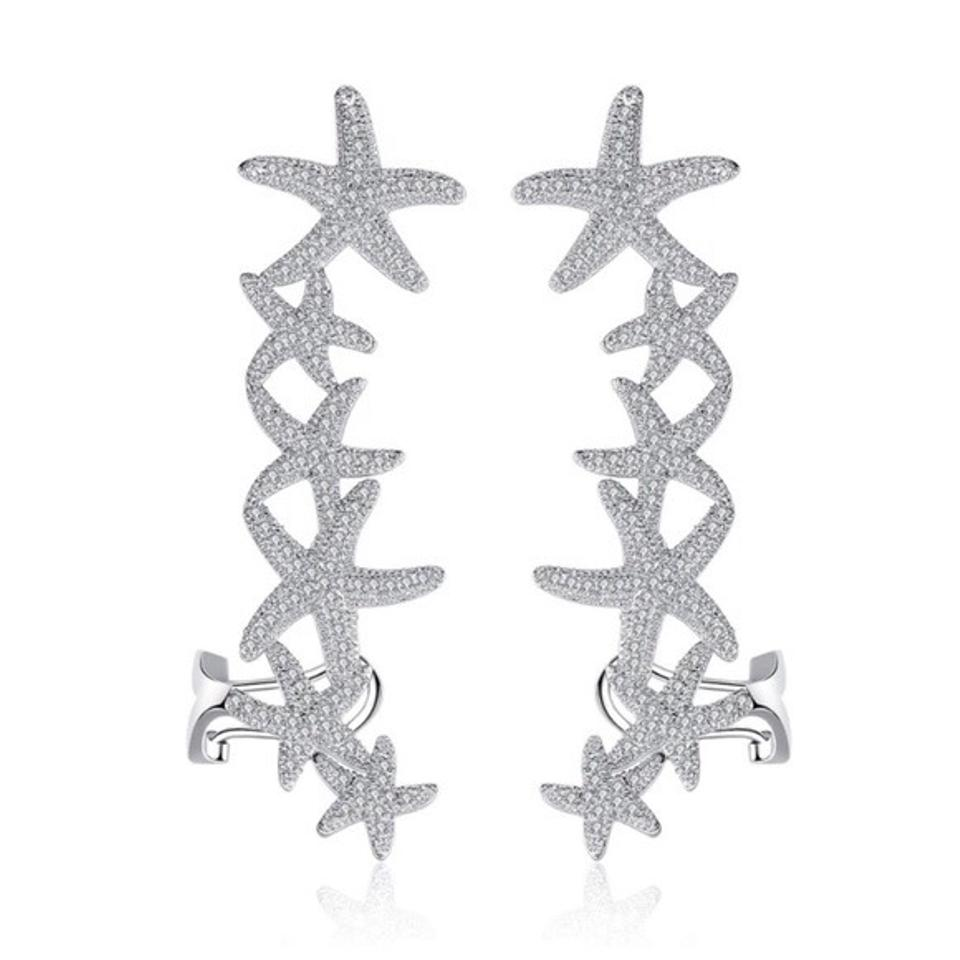 Other Swarovski Crystals The Xylia Starfish Earrings
