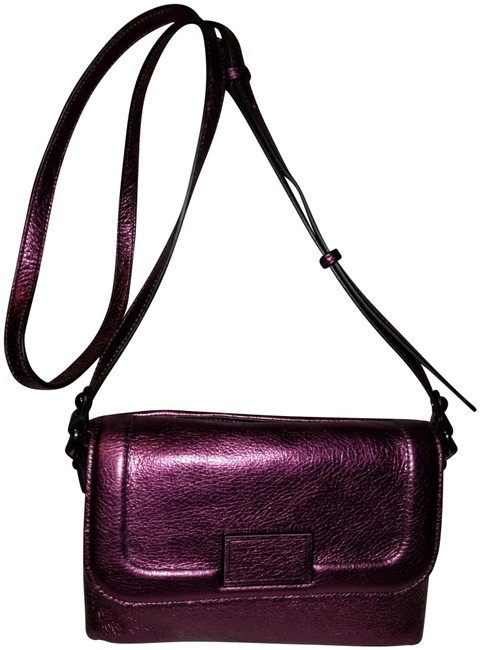 Marc by Marc Jacobs Metallic Purple. Leather Cross Body Bag Marc by Marc Jacobs Metallic Purple. Leather Cross Body Bag Image 1