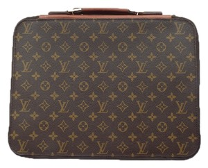 Louis Vuitton Portfolio Document Laptop Monogram Messenger Bag