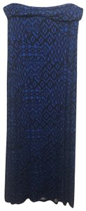 Brat Star Maxi Skirt Cobalt & Black