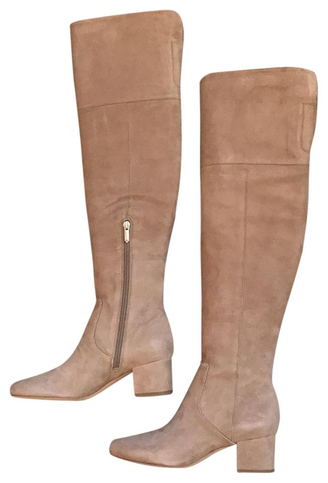 99df56cbc0e Sam Edelman Oatmeal Elina Over-the-knee Boots Booties Size US 6.5 ...