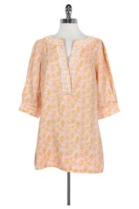 Lilly Pulitzer Pink Beaded Tunic