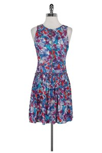 Theory short dress Multicolor Drop Waist on Tradesy