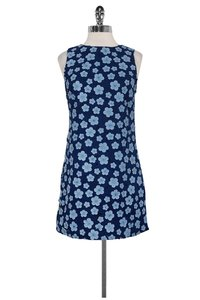 Alice + Olivia short dress Blue Floral Applique on Tradesy