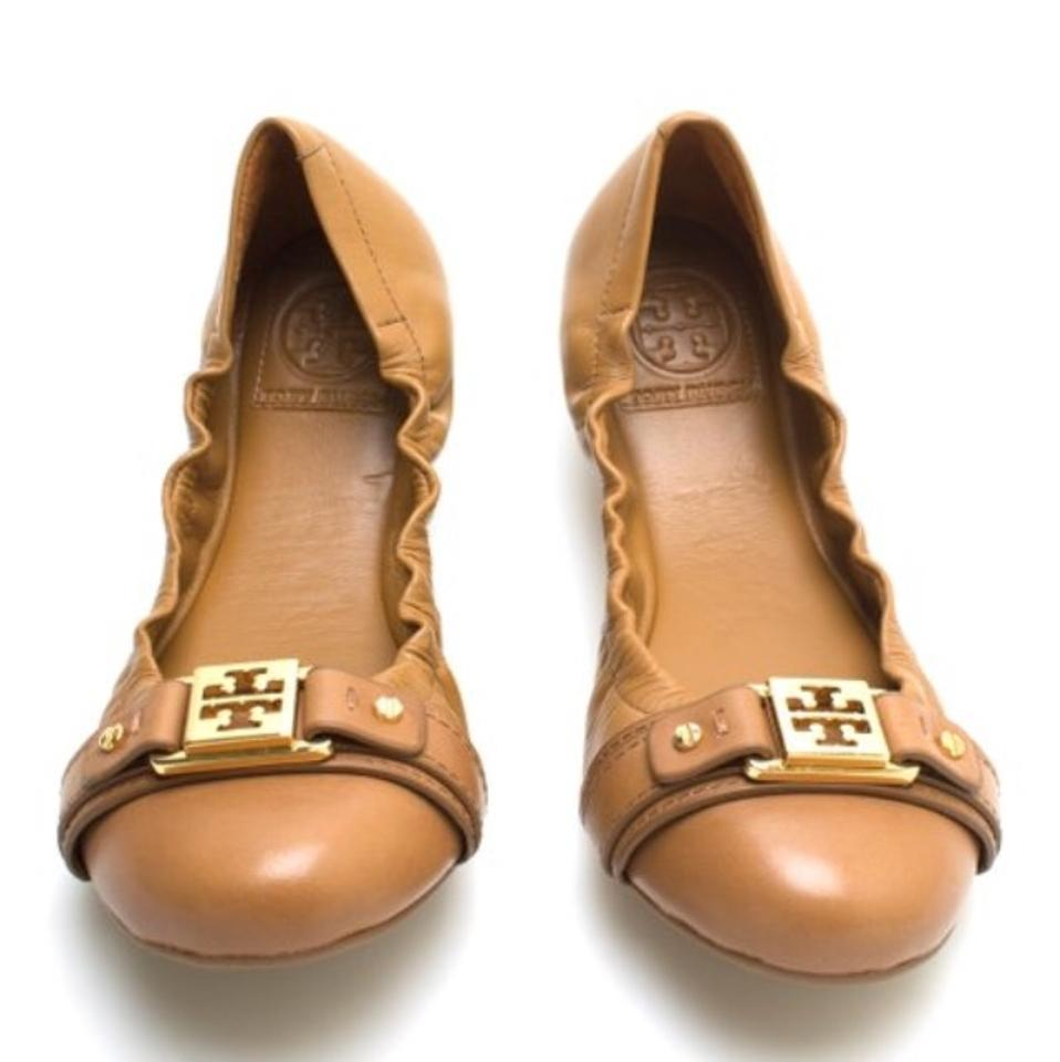 Tory Royal Burch Royal Tory Tan Ambrose Ballet Flats 4f4982