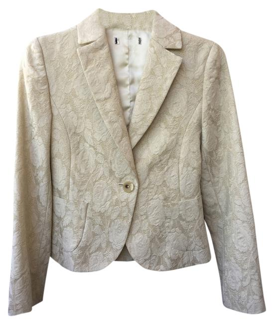 Banana Republic Gold and Cream Blazer
