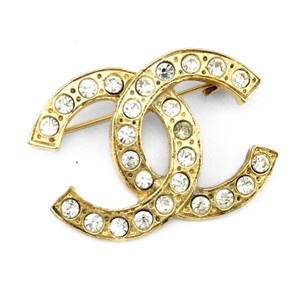 gold jewellery metal ref woman channel brooch luxe white instant chanel