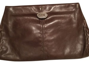 Tod's Medium Brown Clutch