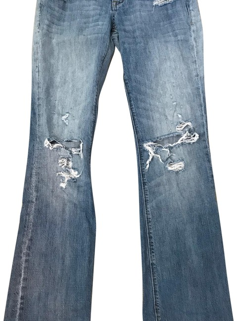 Item - Distressed Relaxed Fit Jeans Size 6 (S, 28)