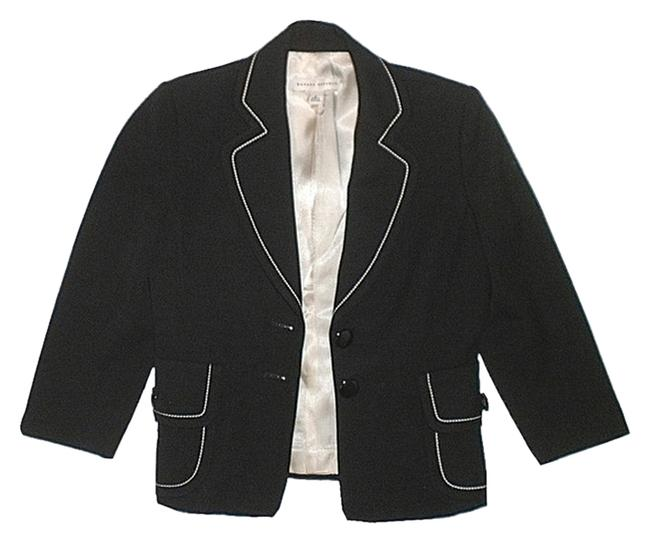 Banana Republic Classic Wool Black Blazer