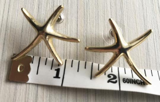 Other Gold Starfish Earrings