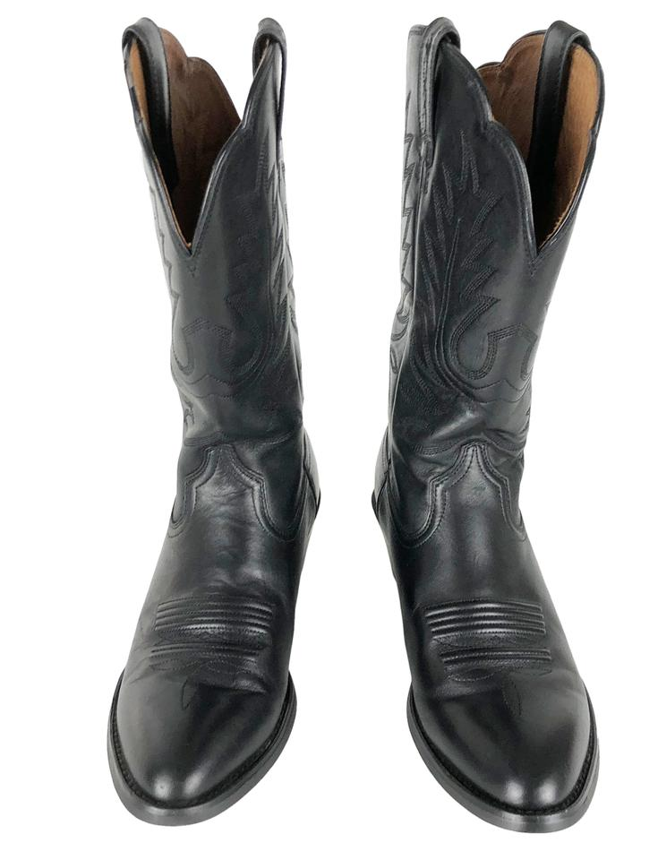 7cdd6e46d38 Ariat Black Heritage 6b #15701 Women's Leather Cowboy Western Boots/Booties  Size US 6 Regular (M, B)