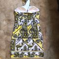 Cache short dress yellow, black on Tradesy Image 2