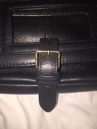 Tory Burch Black, Gold Clutch