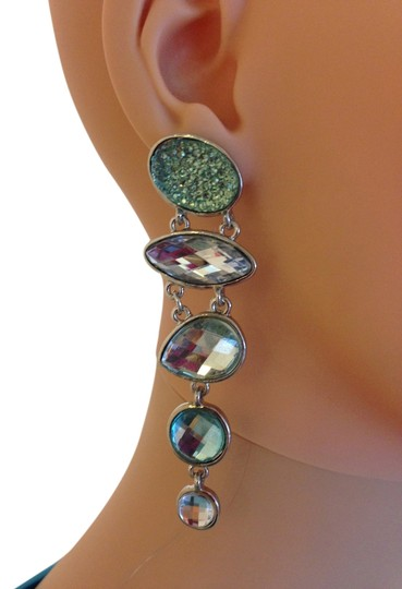 Preload https://item5.tradesy.com/images/blue-sparkly-earrings-2326769-0-2.jpg?width=440&height=440