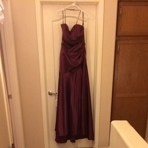Dessy Dark Maroon Dress