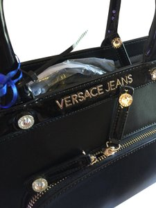 Versace Jeans Collection Tote in Black