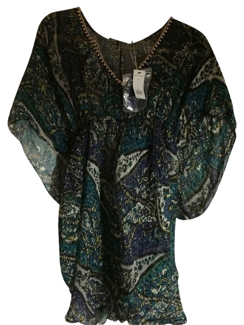 Preload https://item1.tradesy.com/images/joie-blue-tunic-size-8-m-2326850-0-0.jpg?width=400&height=650