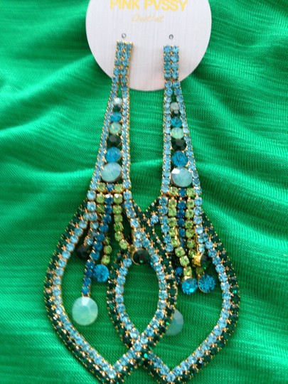 Other Large Bling Statement earrings