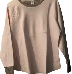 Cuddl Duds Longsleeve Plus-size Winter Casual Cotton T Shirt pink