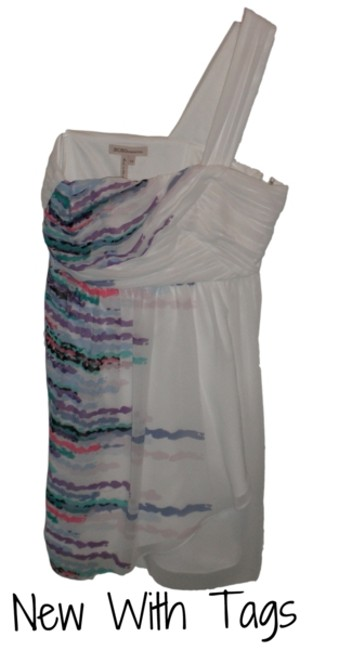 Preload https://item2.tradesy.com/images/bcbgmaxazria-white-and-multicolor-above-knee-cocktail-dress-size-10-m-2326901-0-0.jpg?width=400&height=650