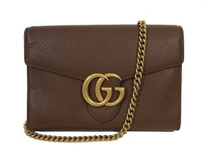 Gucci Leather Purse Marmont 401232 Cross Body Bag