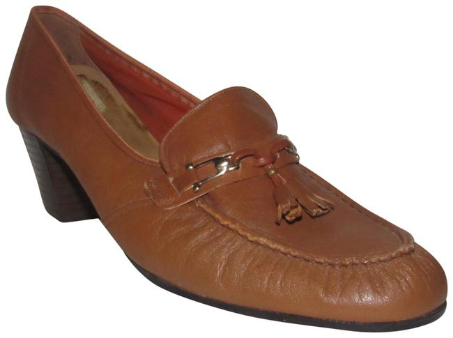 Naturalizer Brown Leather Vintage Shoes