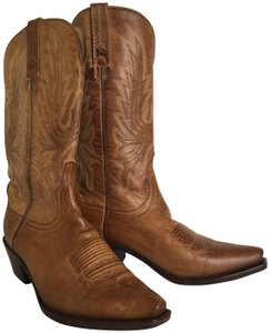 Charlie 1 Horse by Lucchese Cowboy Luxe Leather Vintage Classic Whiskey Boots