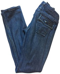 Stitch's Straight Leg Jeans-Medium Wash