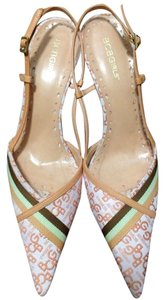BCBGeneration Peach Pumps