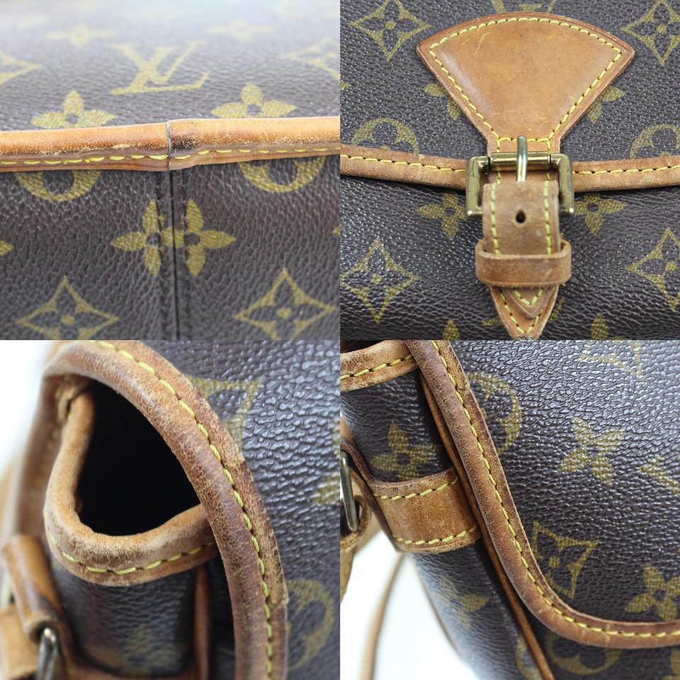 2f0d2f6d2194 Louis Vuitton Sologne Shoulder M42250 Vintage Brown Monogram Canvas ...