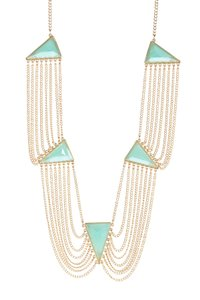 Bansri Bansri Isabella Necklace Mint