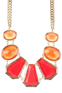 Bansri Bansri Pernia Necklace Orange Multi
