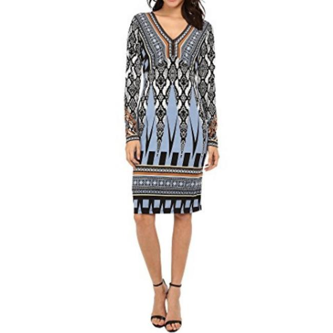 Preload https://img-static.tradesy.com/item/23271429/hale-bob-blue-multi-color-survival-instinct-v-neck-workoffice-dress-size-8-m-0-1-650-650.jpg