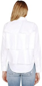 AMO Button Down Shirt white