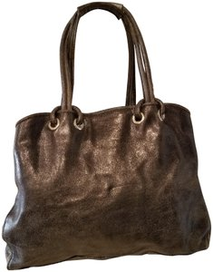 Jane August Leather Hobo Bag