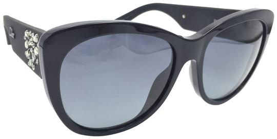 Dior Inedite Classic Cat Eye Crystal Matte Sunglasses UI5HD Image 0
