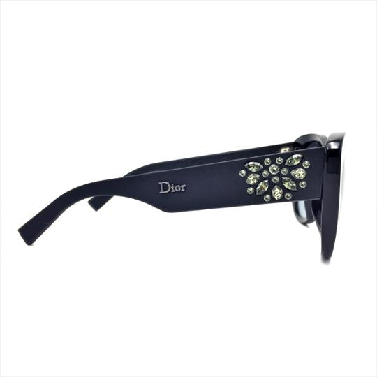 Dior Inedite Classic Cat Eye Crystal Matte Sunglasses UI5HD Image 4