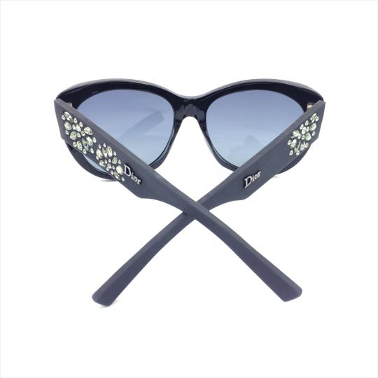 Dior Inedite Classic Cat Eye Crystal Matte Sunglasses UI5HD Image 9
