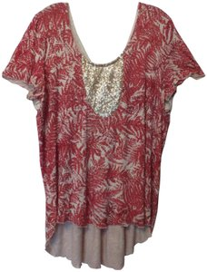 Sundance Knit Lace High Low Tunic