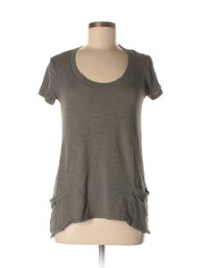 Anthropologie T-shirt Cut-out Left Of Center Tunic